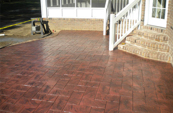 paver stone patio Virginia