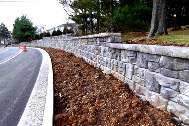 retaining wall Virginia